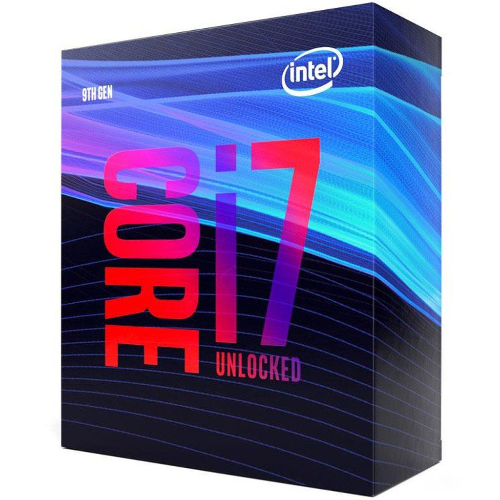 Processador INTEL Core I7 9700K Coffee Lake LGA 1151 4,9GHZ 12 MB