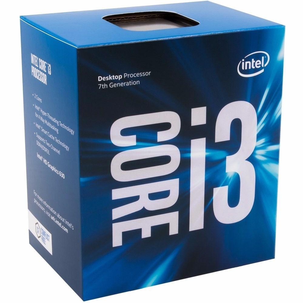 Processador Intel I3 7100 Cache 3MB 3,9GHz Kaby Lake LGA 1151