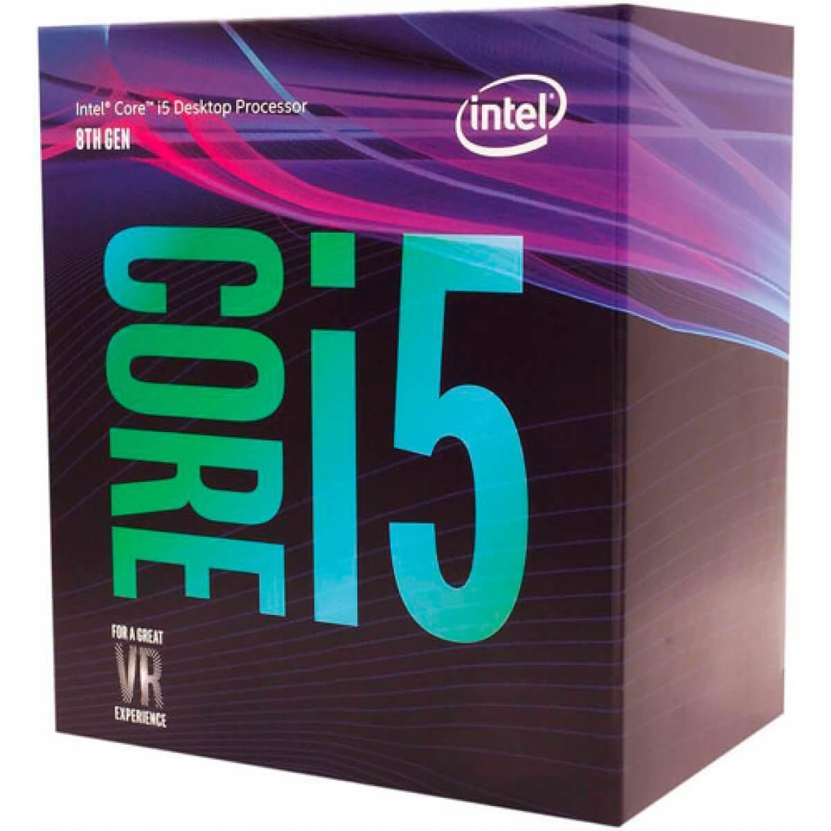 Processador intel i5 8600 3.1GHZ (4.3GHZ TURBO) 8ª Geração Coffee Lake LGA 1151