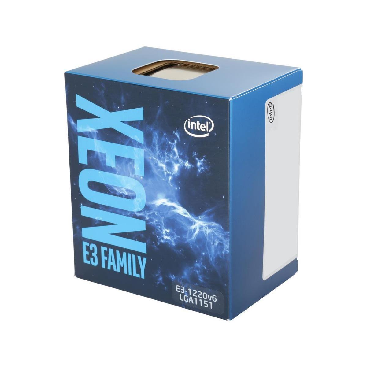 Processador Servidor INTEL E3 1220V6 Xeon 1151 3.00 GHZ BOX