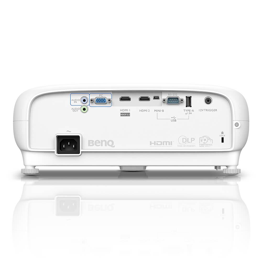 "Projetor BENQ 3000 Lumens 100"" 4K HDR TK800"