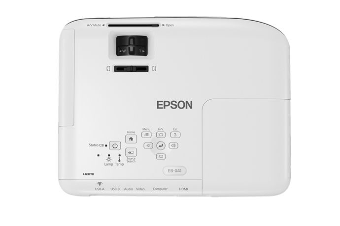 Projetor Multimidia EPSON X41+ 3600 Lumens XGA Wifi V11H843024