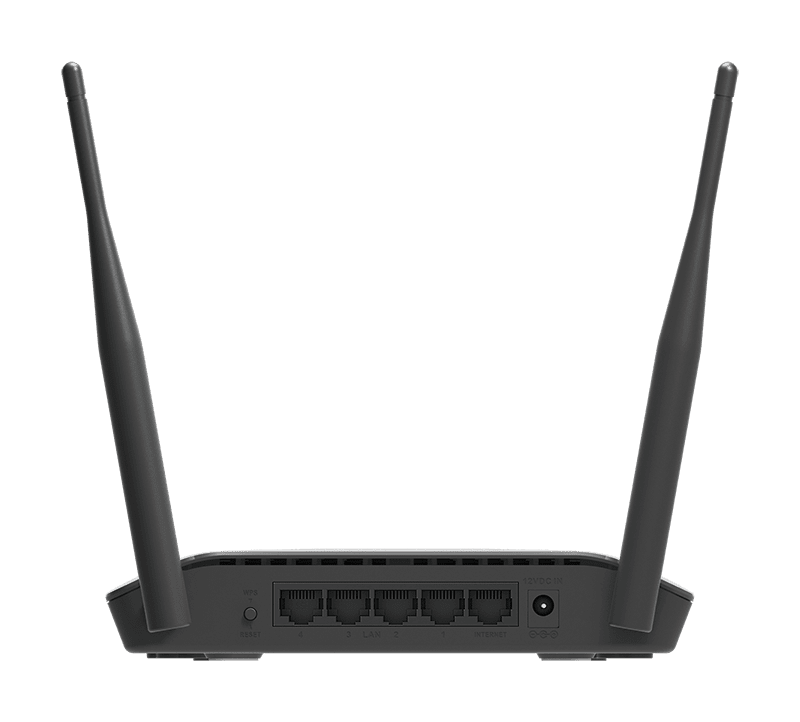 Roteador D-Link 300Mbps Dual Antena 5dBi IPv6 Modo Repetidor Bivolt Preto DIR-615