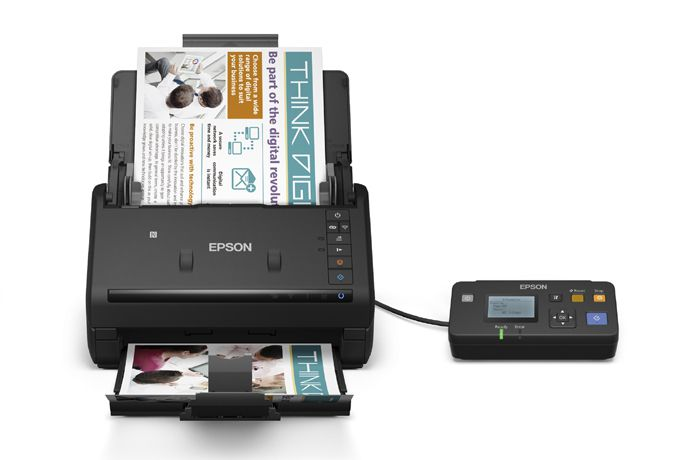 Scanner EPSON Colorido Document Workforce ES-500W B11B228201