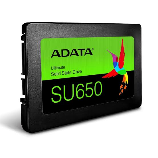 SSD Adata SU650 120GB Sata III LEITURA 520MB/s Gravação 450MB/s