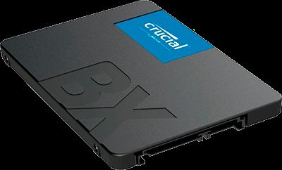 """SSD Crucial BX 500 1TB 2.5"""" Sata, Leitura 540Mb/s Gravação 500Mb/s"""