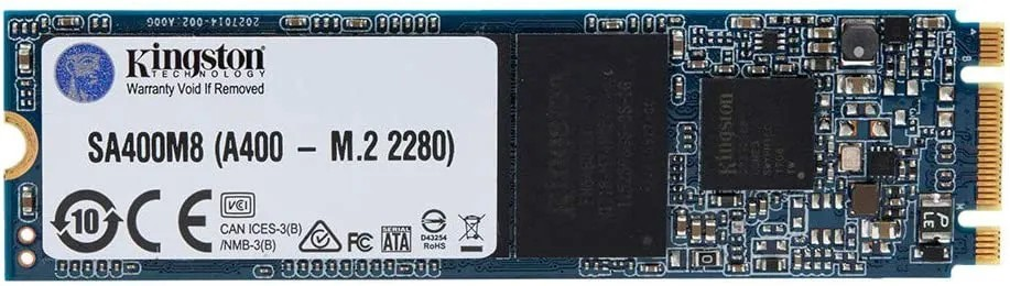 SSD Kingston 240GB A400 M.2 2280 Leitura 500MBs e Gravação 350MBs SA400M8/240G
