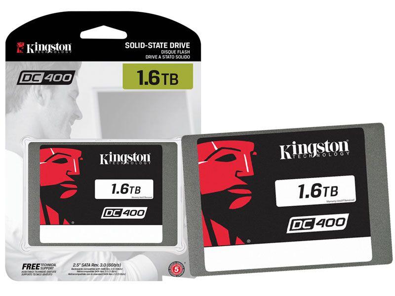 SSD Servidor Kingston SEDC400S37/1600G DC400 1.6TB SATA III
