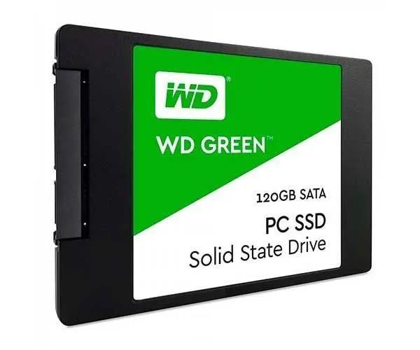 SSD WD Green 120GB SATA 3 Leitura 540Mbs e Gravação 430Mbs WDS120G2G0A