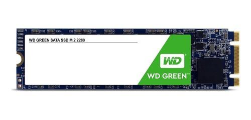 SSD Western Digital Green 120GB M.2 Sata 6Gb/s Leitura 445Mb/s WDS120G2G0B