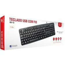 Teclado C/ Fio C3 Tech KB-13 ABNT2 USB