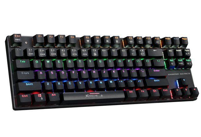Teclado Gamer Xtrike Mecânico GK - 908