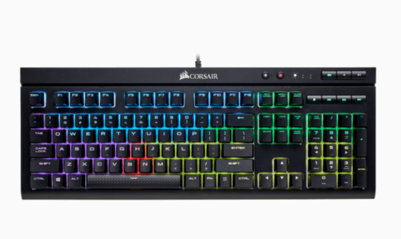 Teclado Mecânico Corsair Gaming K68 RGB MX RED CH-9102010-BR