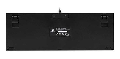 Teclado Mecanico Redragon Kumara RGB Switch Vermelho K552RGB