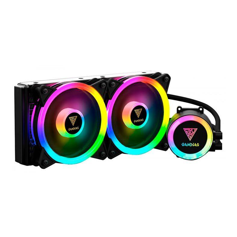 Water Cooler Gamdias Chione M2-240 Lite ARGB 240mm Intel AMD
