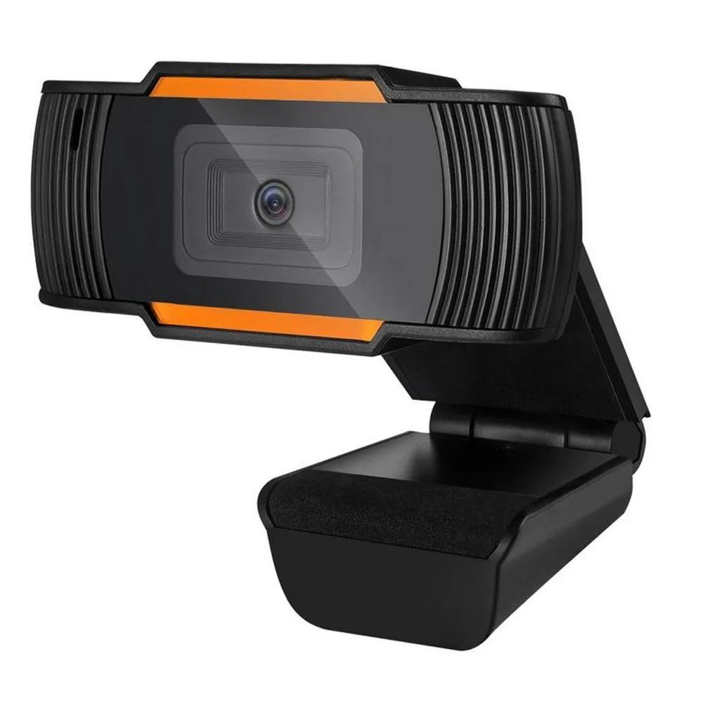 Webcam Brazil PC V5 HD 720P Preto/Laranja USB