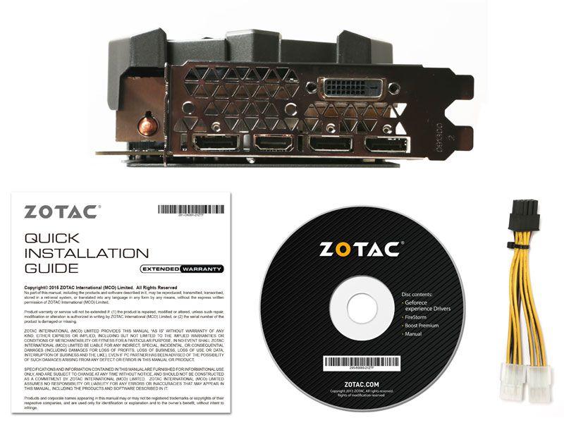 Zotac GTX Nvidia ZT-P10710B-10P GTX 1070TI EXTREME 8GB DDR5
