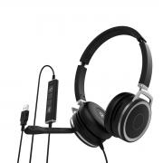 Headset Biauricular Whs 80 Usb  Intelbras