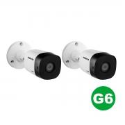 Kit 02 Câmera Bullet Intelbras Vhd 1220 B G6 1080p 3.6mm