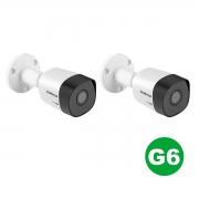 Kit 02 Câmera Bullet Intelbras Vhd 3130 B G6 720p 3,6mm