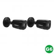 KIT 02 Câmera VHD 1220 Black G6 1080p 3,6m