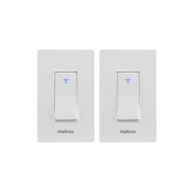 Kit 02 Interruptor Inteligente Intelbras Wi-Fi Ews 101 I