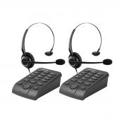 Kit 02 Telefone Headset Intelbras Hsb 50