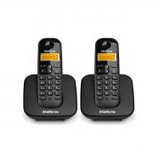 Kit 02 Telefone Sem Fio Intelbras Ts 3110 Preto