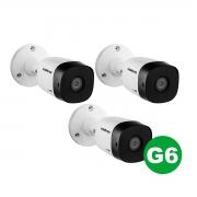Kit 03 Câmera Bullet Intelbras Vhd 1220 B G6 1080p 3.6mm