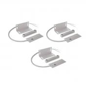 Kit 03 Sensor Magnético Com Fio Intelbras Xas Porta Aço