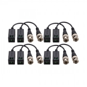 Kit 04 Conversor Balun Intelbras Vb 501p