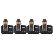 Kit 04 Telefone Sem Fio Intelbras Ts 5150