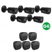 KIT 05 Câmera VHD 1220 Black G6 1080p 3,6m + Vbox 1100 E