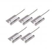 Kit 05 Sensor Magnético Com Fio Intelbras Xas Porta De Aço