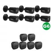 KIT 06 Câmera VHD 1220 Black G6 1080p 3,6m + Vbox 1100 E