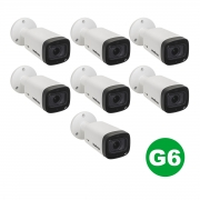 Kit 07 Câmera Intelbras Vhd 3240 Vf G6 1080p 2,7 A 12mm