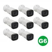 Kit 08 Câmera Intelbras Vhd 3240 Vf G6 1080p 2,7 A 12mm