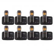 Kit 08 Telefone Sem Fio Intelbras Ts 5150