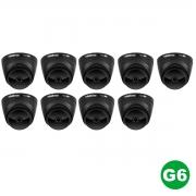 KIT 09 Câmera Multi HD VHD 1220 D G6 BLACK 1080p 2,8m