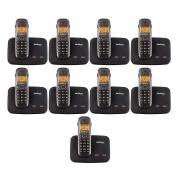 Kit 09 Telefone Sem Fio Intelbras Ts 5150