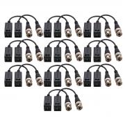 Kit 10 Conversor Balun Intelbras Vb 501p
