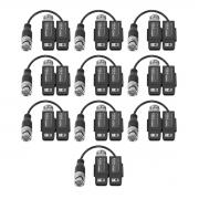 Kit 10 Transformador Balun Passivo Intelbras Vb 502 B G2