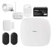 Kit Alarme Intelbras AMT 1016 NET 02 Sensores Sem Fio