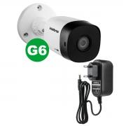 Kit Câmera Intelbras 1220 B G6 1080p 3.6 Mm + Fonte Ef 1201