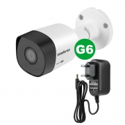 Kit Câmera Intelbras 3120 B G6 720p 3,6 mm + Fonte Ef 1201