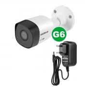 Kit Câmera Intelbras 3230 B G6 1080p 3.6 mm + Fonte Ef 1201