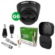 Kit Câmera Intelbras Vhd 1220 D G6 Black 2,8m + Cabo + Acessórios