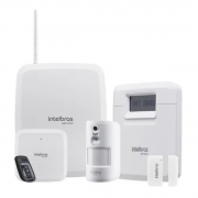 KIT CENTRAL ALARME AMT 8000 + 12 XAS 8000 + itens