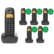 KIT TELEFONE  INTELBRAS TS 2510 + 05 RAMAL TS 2111