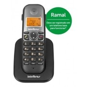 TELEFONE SEM FIO RAMAL INTELBRAS TS 5121 (RAMAL INTERNO TIS 5010 )